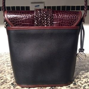 Brighton Bags - Brighton Brown and Black Purse